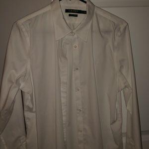 White Ralph Lauren Button Up